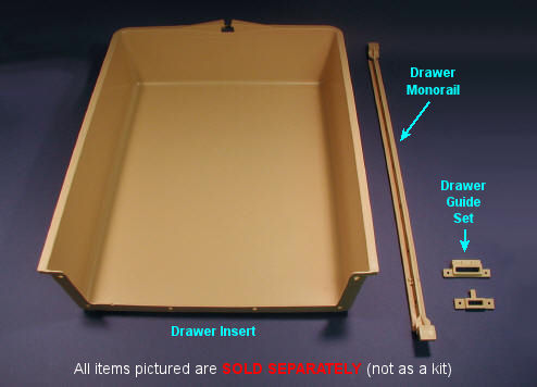 Cabinet Hardware: Cabinet Drawer Inserts & Triangle Pacific