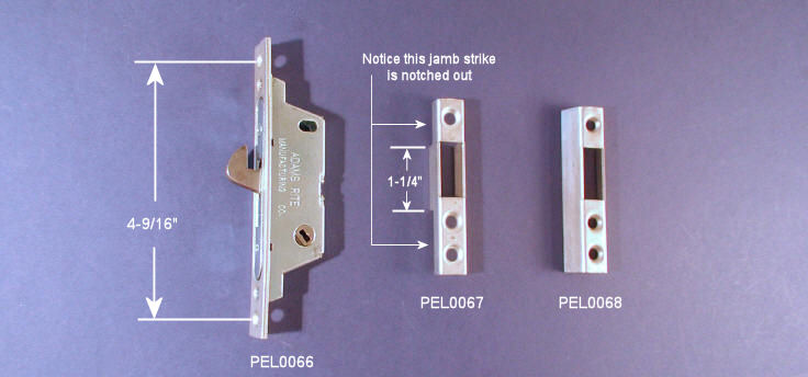 Patio Door Mortise Locks