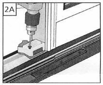 Pella Sliding Patio Door Foot Locks  sc 1 st  AMSCO & Pella Sliding Patio Door Foot Lock