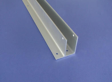 Toilet Partition Continuous Wall Brackets - Bathroom partition brackets