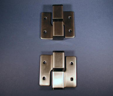 Toilet partition hinges for Bathroom divider hardware