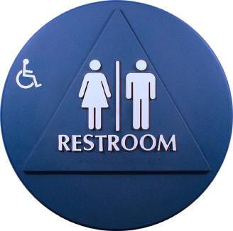 Title 24 Restroom Sign. Restroom Signs