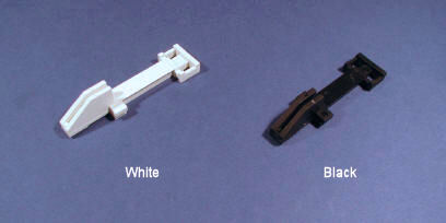 White & Black Window Latches