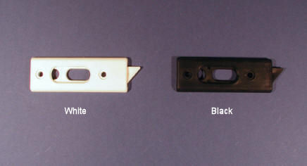 Black and White Window Latches